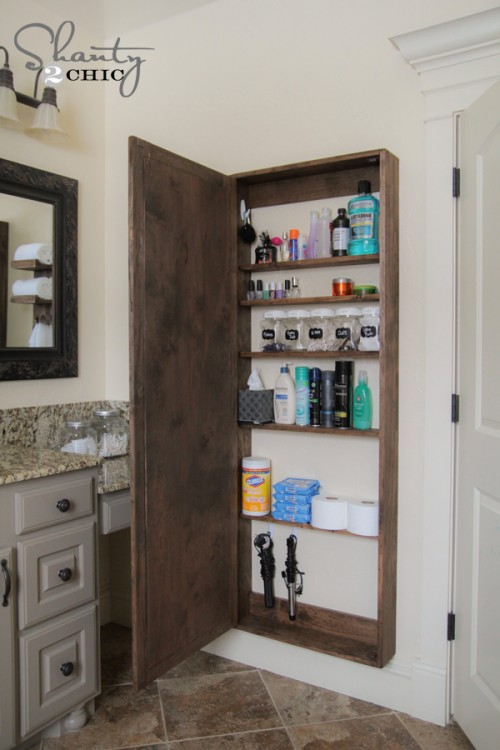 Attractive 12 small bathroom storage ideas - wall storage solutons and shelves for liiajto