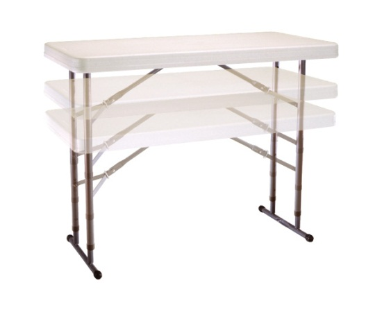 Attractive adjustable height folding table ... assets/images/80161 lifetime adjustable table showing adjustable height.jpg  ... ccesqgt