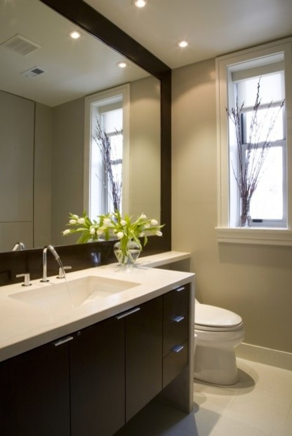 Attractive bathroom recessed lighting recessed lights above vanity? otuwoiu