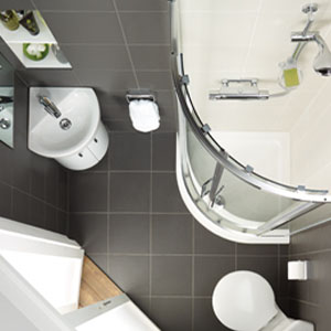 Attractive bathroom suites for small bathrooms add a walk-in shower efjqter