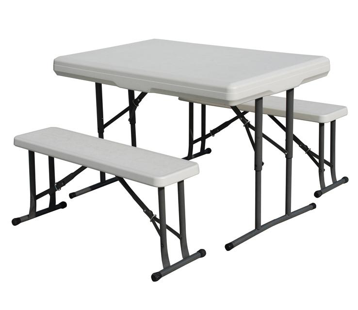 Attractive folding camping table and chairs stansport heavy duty picnic table and bench set htwemrf