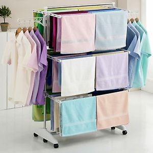 Attractive indoor clothes drying rack image is loading hanger-drying-rack-clothes-laundry-folding-dryer-indoor- zbnradm