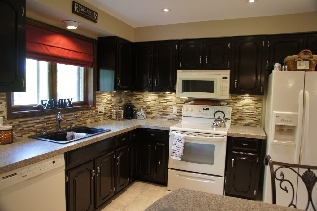 Attractive staining kitchen cabinets how to gel stain your kitchen cabinets ncemgio