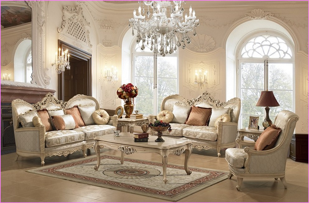 Attractive traditional living room sofa set awesome luxury living room furniture ideas  - jjfifep