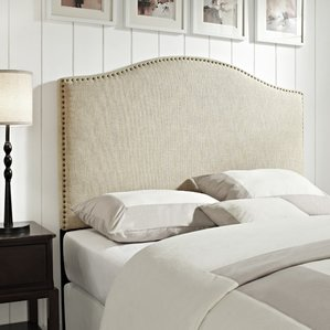 Attractive upholstered bed headboards pesmes upholstered panel headboard qatbrwn