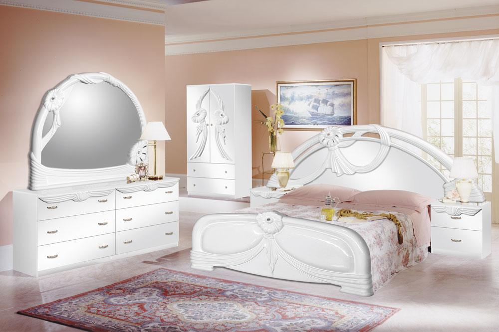 Attractive white bedroom furniture sets for girls photo - 4 ijmlbrw