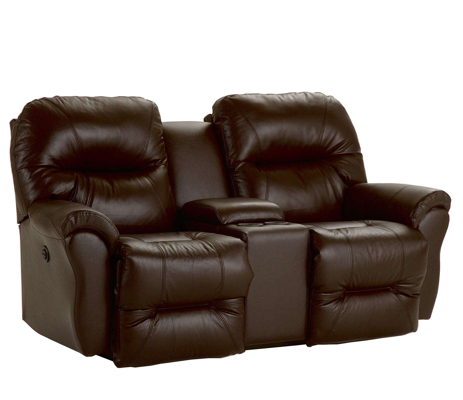 Awesome best home furnishings bodie power rocking reclining loveseat with storage  console ctctflf