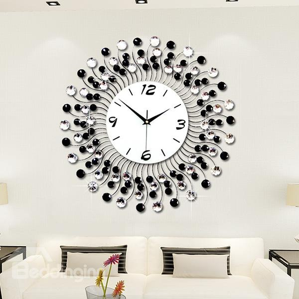 Awesome ... captivating decorative wall clocks for living room and modern classic living ulkcffk
