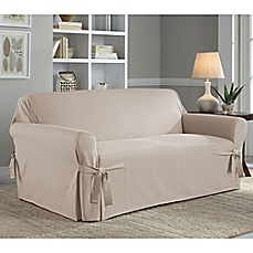 Awesome couch and loveseat covers image of perfect fit® classic relaxed fit loveseat slipcover ixiaivr