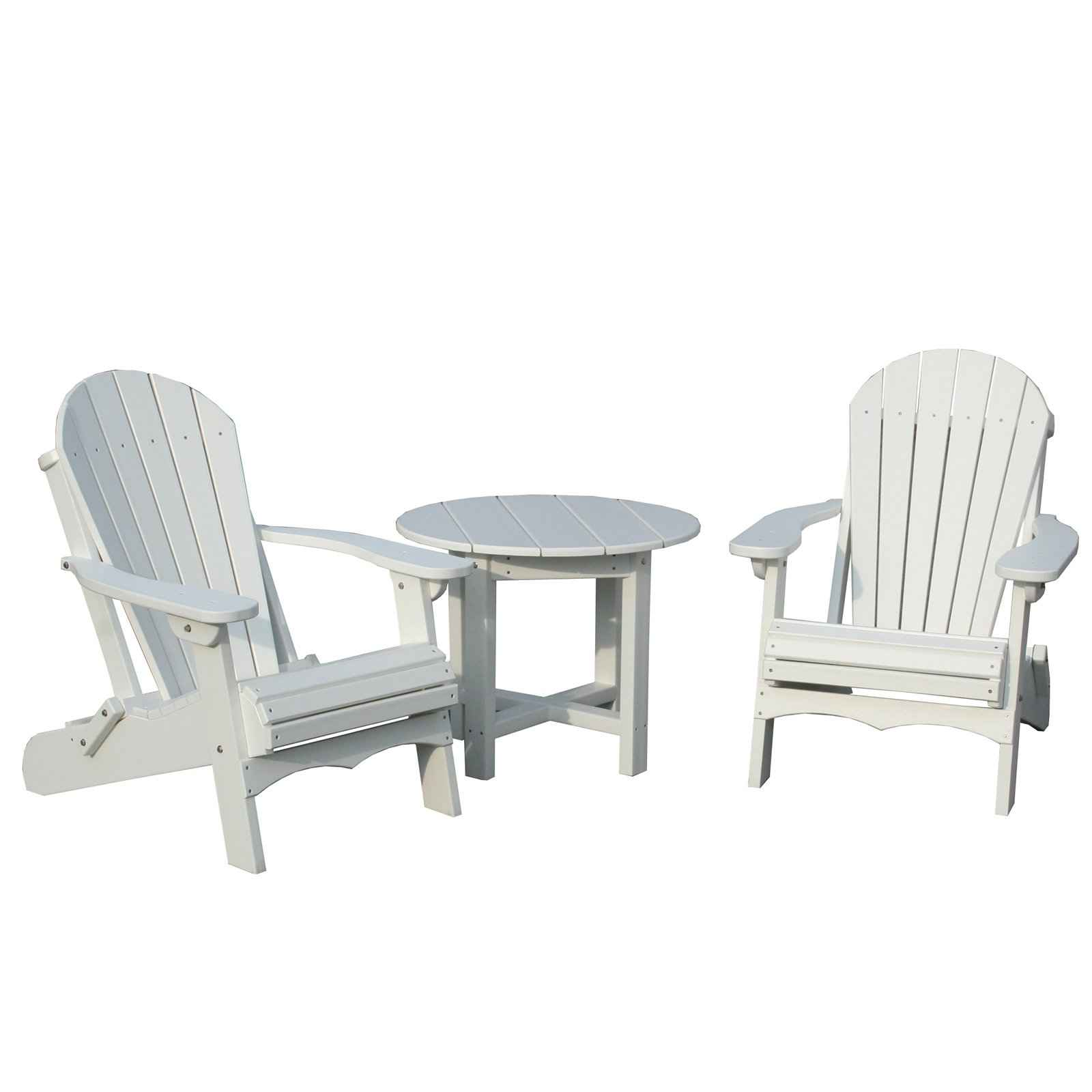 Awesome image of: white plastic adirondack chairs qxnahny