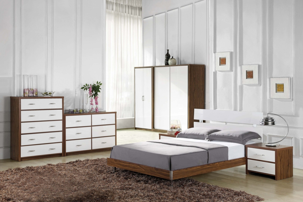 Awesome image of: white wood bedroom furniture childrens wnzxabn