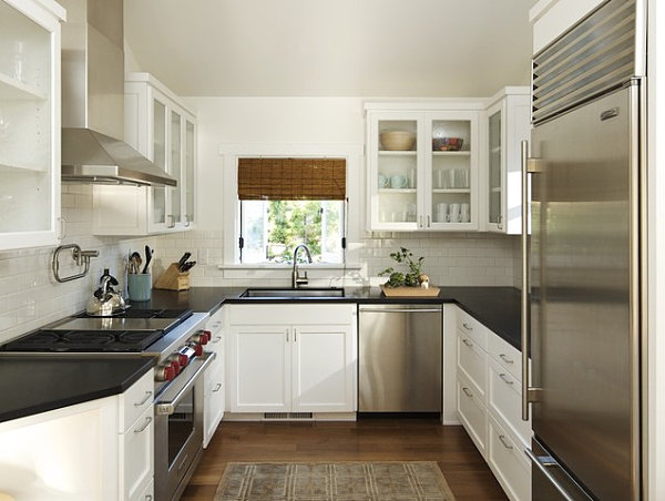Awesome kitchen designs for small kitchens view in gallery a small kitchen ... ywgdkbo
