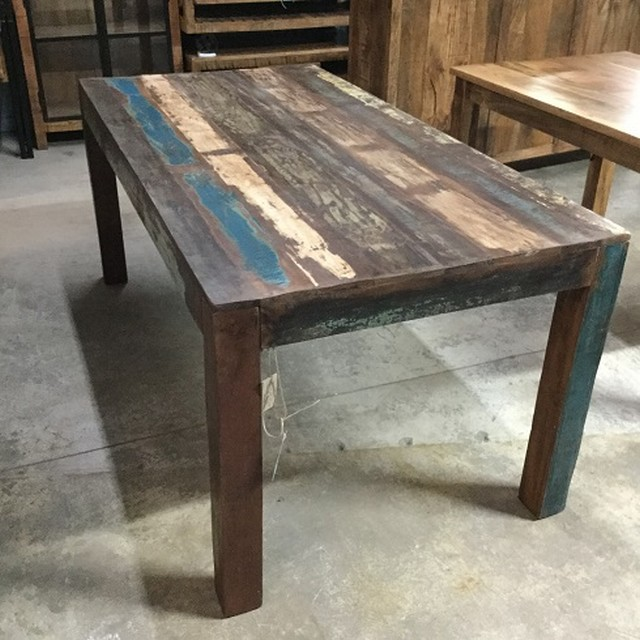 Awesome reclaimed wood dining table mccghuo