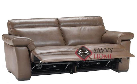 Awesome reclining leather loveseat original ... fsmxmmy
