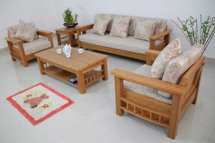 Awesome wooden living room furniture wood living room sofa and table in small modern living room interior ghjtmnk