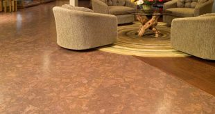Beautiful cork flooring for basement private residence - oak basement floor sovgftv