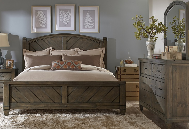 How to properly select country bedroom furniture