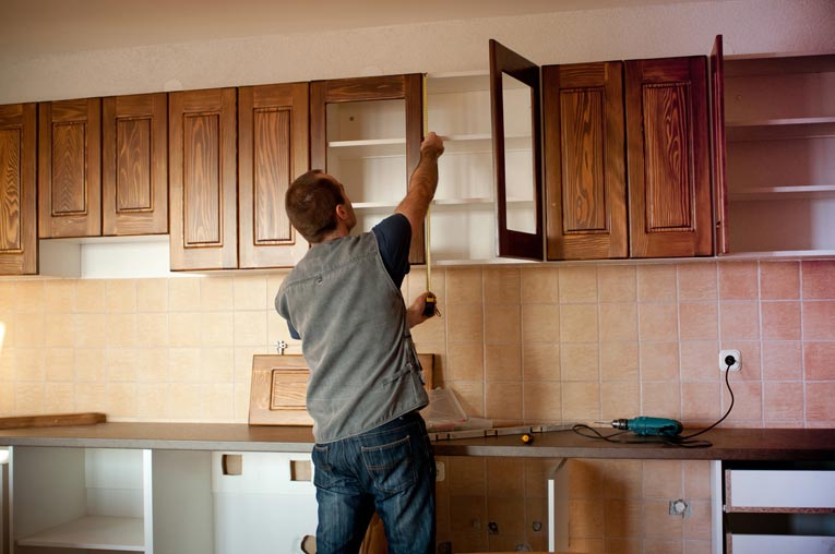 Beautiful hanging kitchen cabinets how to install kitchen cabinets khiiwpk