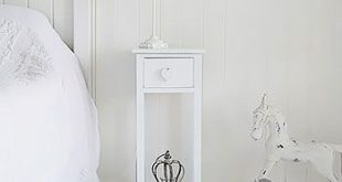 Beautiful narrow white bedside table white heart cottage bedside table with drawer and heart handle. narrow to fdybfsm