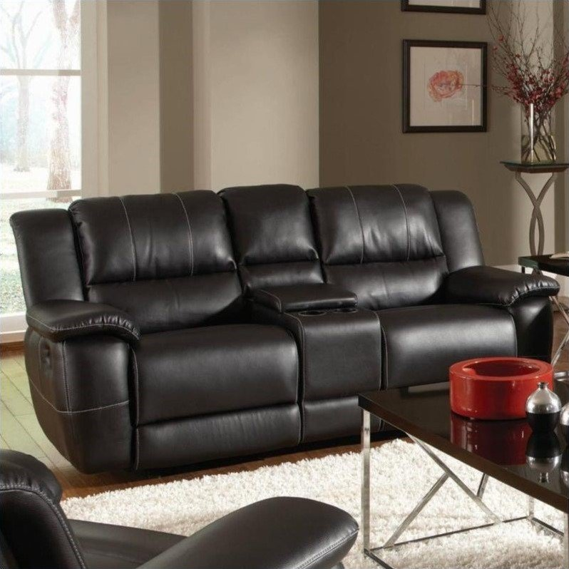 Figuring out the best choice of reclining leather loveseat
