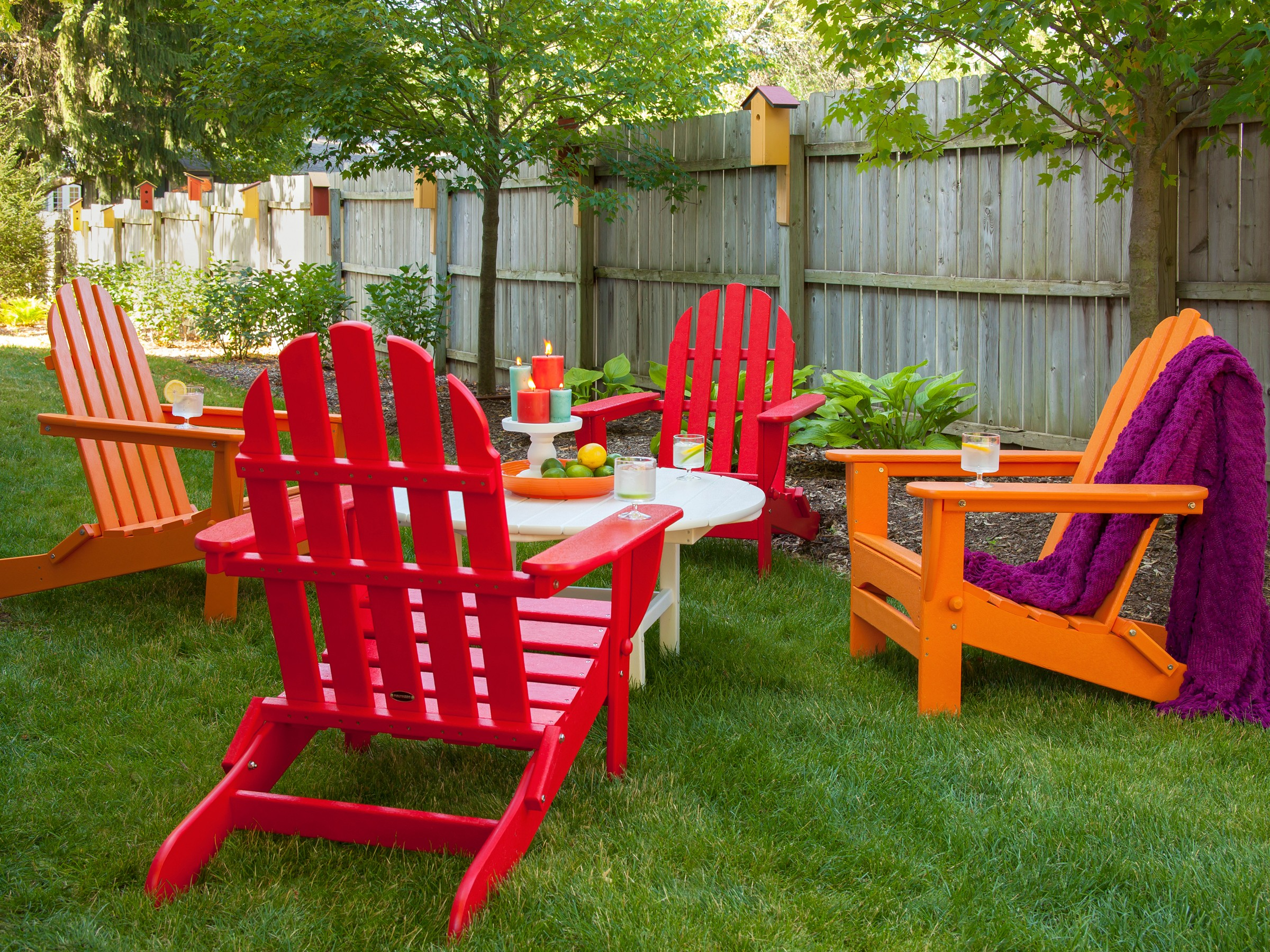 Beautiful recycled plastic adirondack chairs ... recycled plastic adirondack folding classic chair set image ... osnjfws