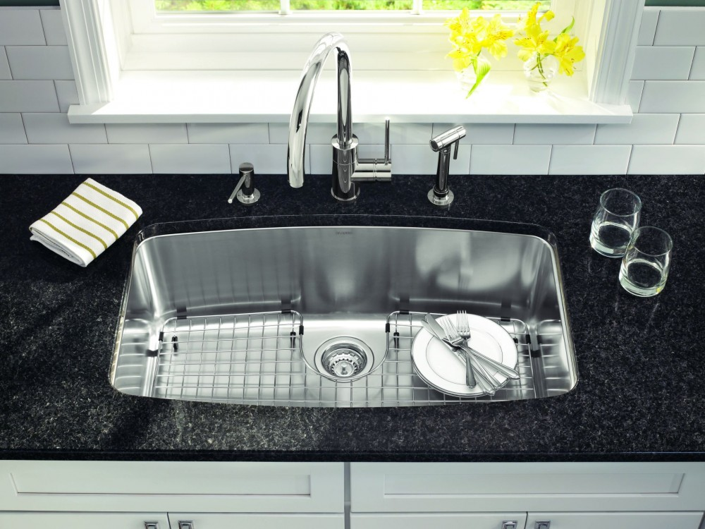 Beautiful undermount stainless steel kitchen sink | kitchentoday zyqwufg