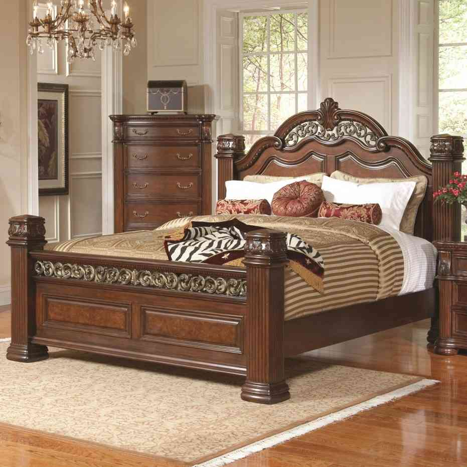 Beautiful wooden king size bed frame image of: luxury king size bed frame with headboard qgbkrbi