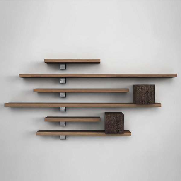 Advantages of wooden wall mounted shelves