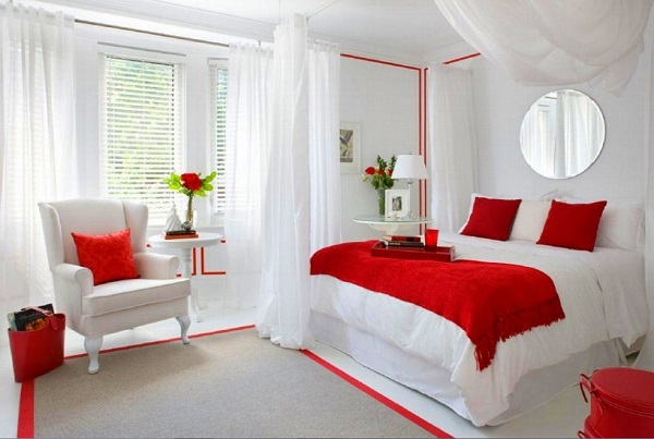 Best bedroom designs for couples romantic white-red bedroom decor for couples. ffioeha