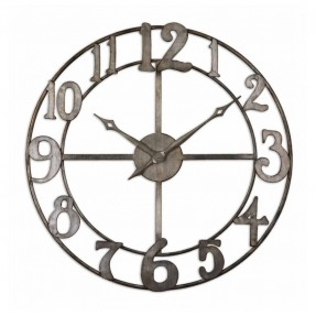 Best large contemporary wall clocks large wall clocks. white and grey delevan contemporary #clocks 32 brspjyu
