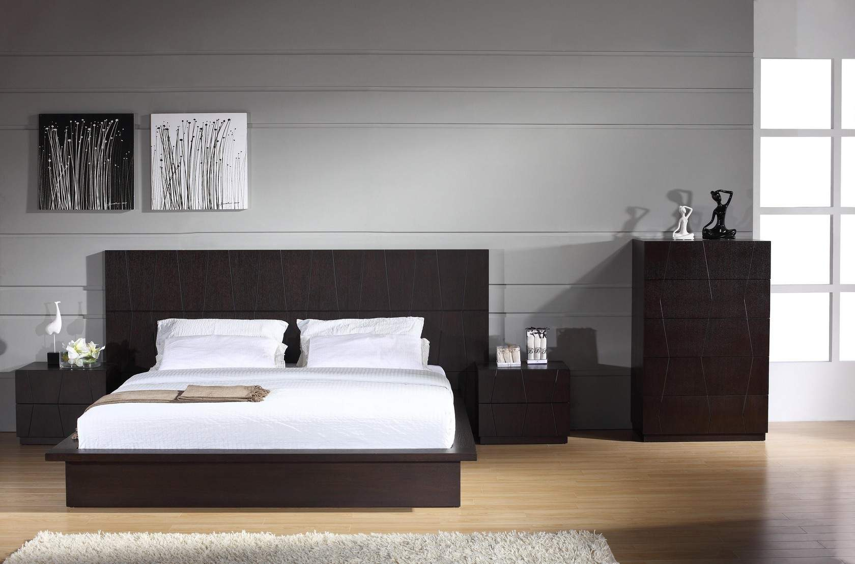 Tips on styling and purchasing modern bedroom furniture sets