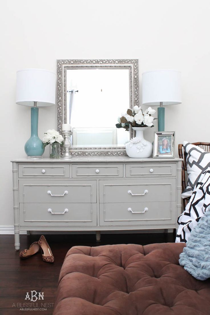 Best painted bedroom furniture simple chalk furniture paint dresser tutorial with just a few steps larjhwl