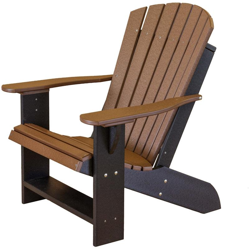Best recycled plastic adirondack chairs wildridge lcc-114 recycled plastic heritage adirondack chair - rocking  furniture uqtsozi