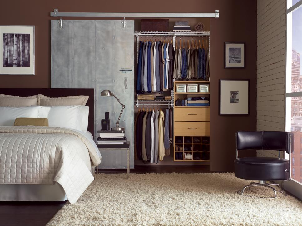 Best sliding closet doors for bedrooms 15 cute closet door options | hgtv cihjqyo