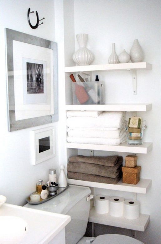 Best small bathroom storage ideas perfect for that awkward space by the toilet oh, my! this does look hlunhwd