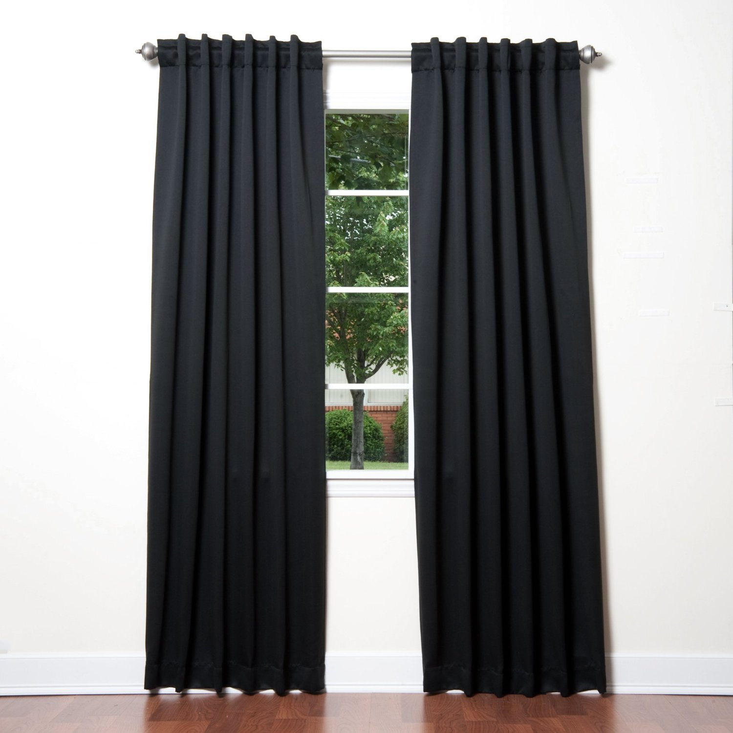 Best thermal blackout curtains amazon.com: best home fashion thermal insulated blackout curtains - back  tab/ rod yulvlcn