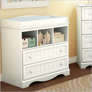 Best white baby changing table changing table in pure white - south shore furniture - 3580330 uwbbmew