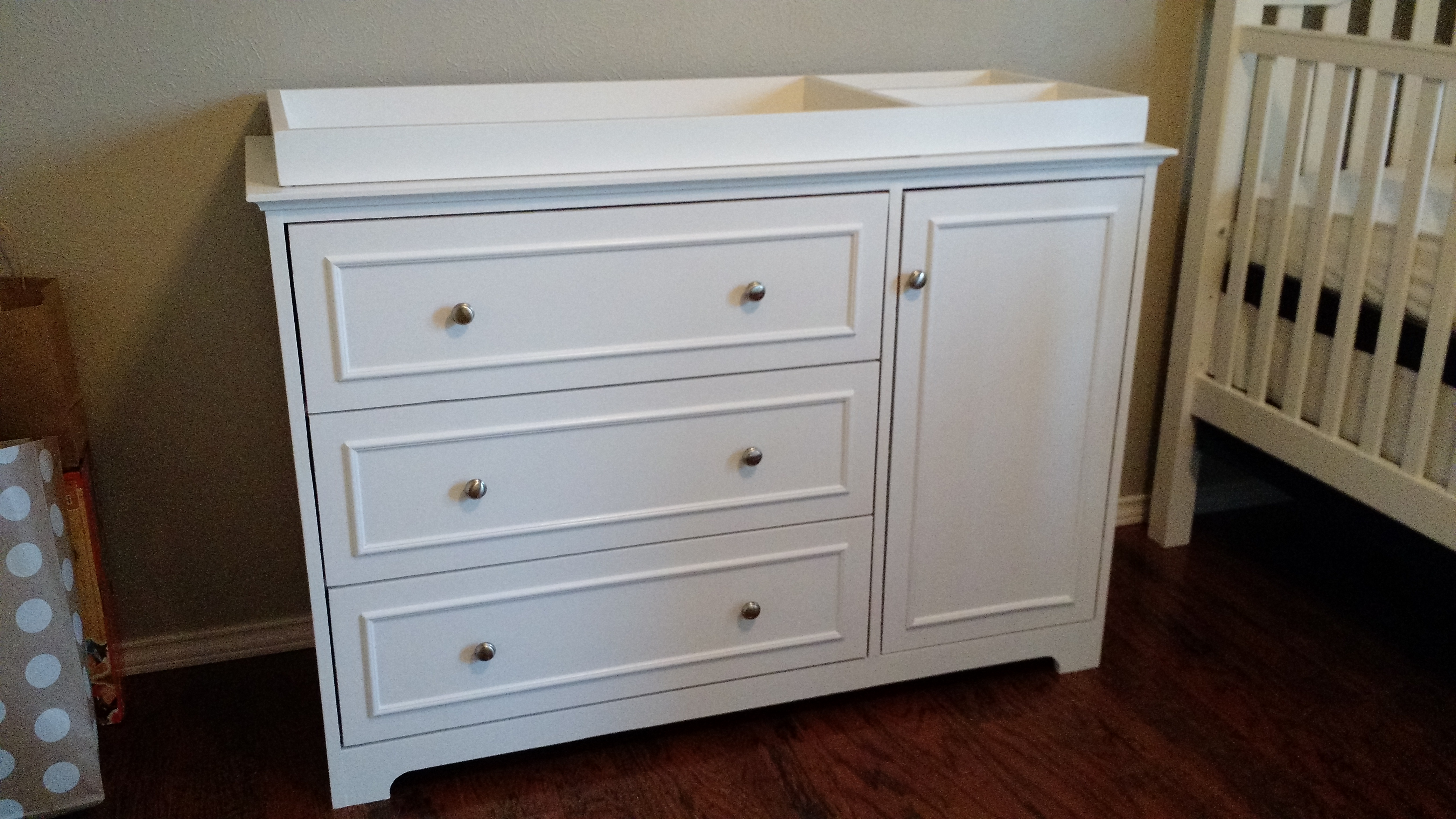 Best white changing table dresser ana white | changing table / dresser - diy projects gxtippa