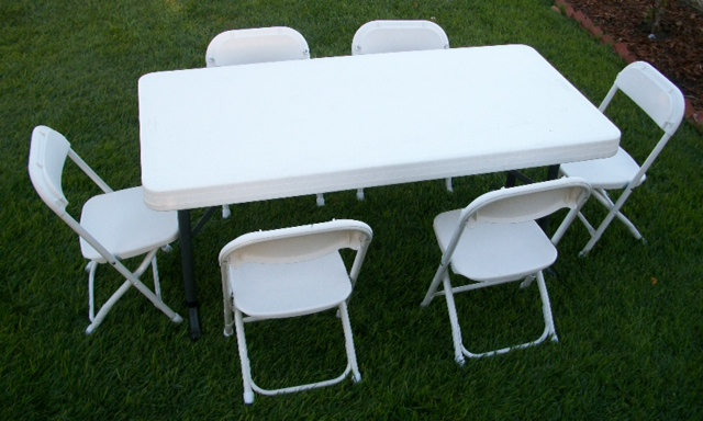 Best white folding table and chairs image via oandhjumpers.com pcybdsi
