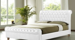Best white king size bed frame queen size white bed frame king size frame and headboard - 5 tips nhoghrz