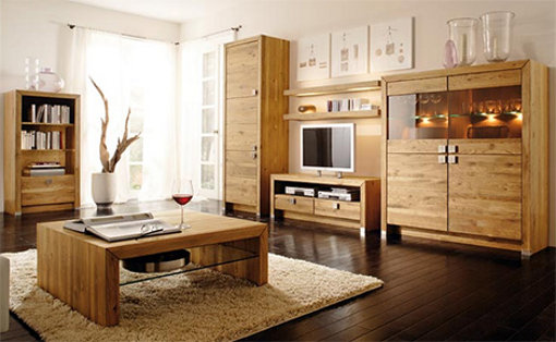 Perks of investing in wooden living room furniture