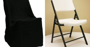 Chic chair covers for folding chairs lifetime folding chair cover - black iphoqci