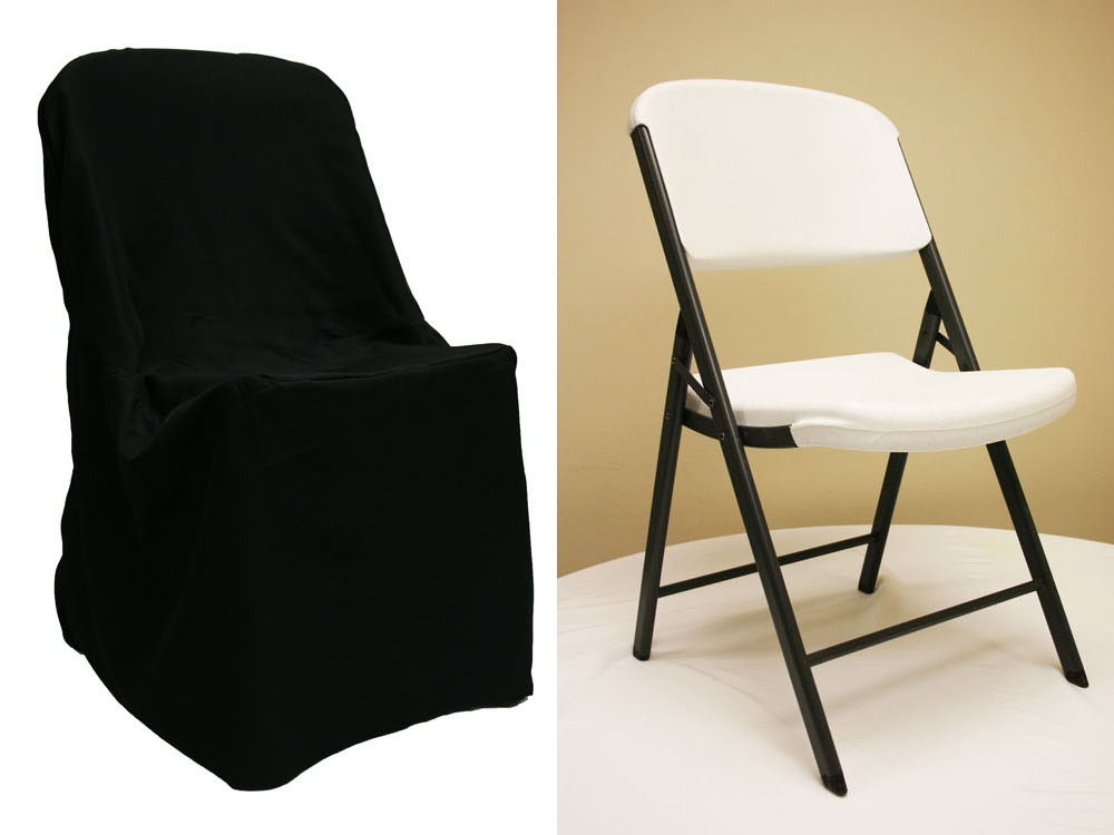 Chair covers for folding chairs – when to use & when not to
