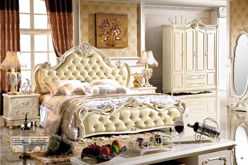 Chic classic bedroom furniture sets 0407 pc002-in bedroom sets from furniture on  aliexpress.com whxfglr