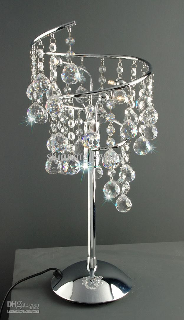Chic crystal table lamps for bedroom swarovski crystal table lamp xjtpdhq