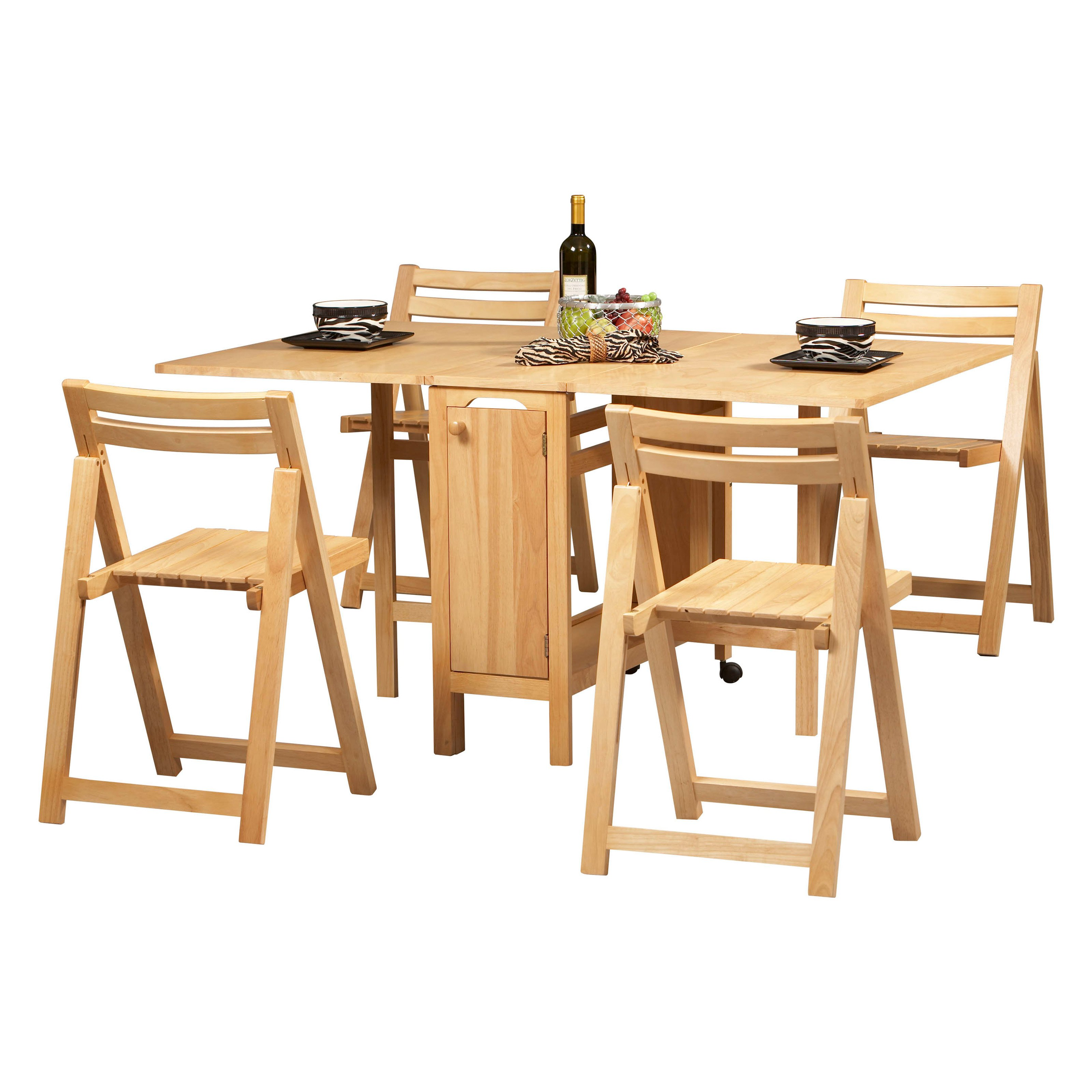 Chic folding table with chairs folding table and chairs set linon space saver 5 pc folding table and etkiana