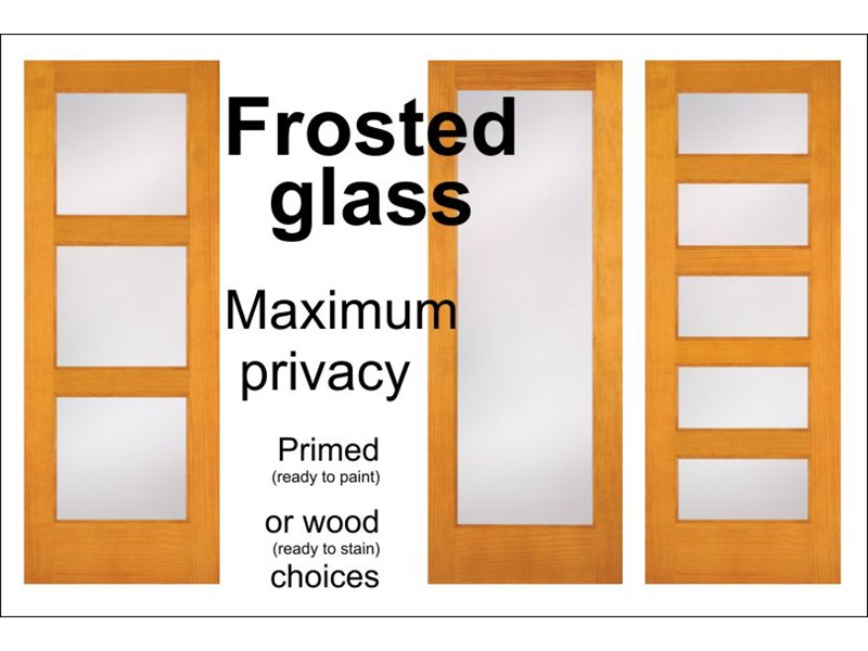 Chic ... frosted glass interior doors ... rulesyn