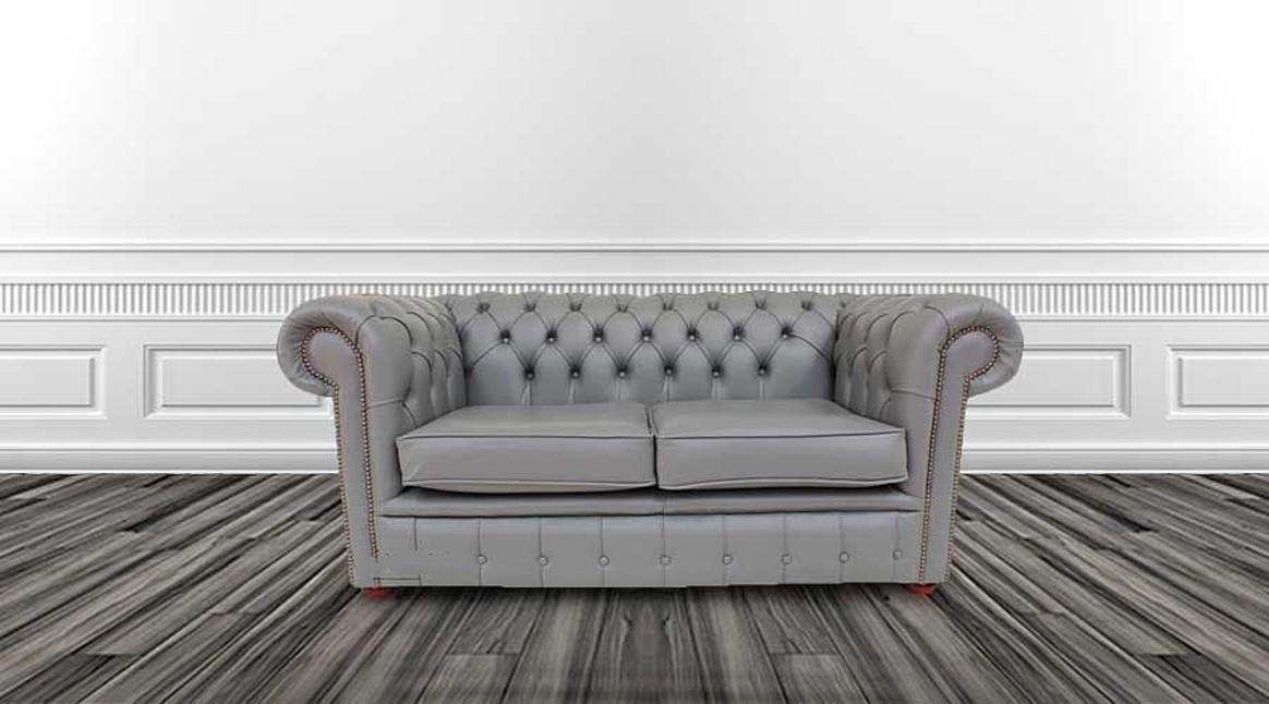 Perks of buying grey leather chesterfield sofa