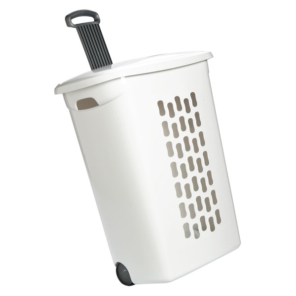 Chic laundry basket with wheels hamper with wheels nxyloni