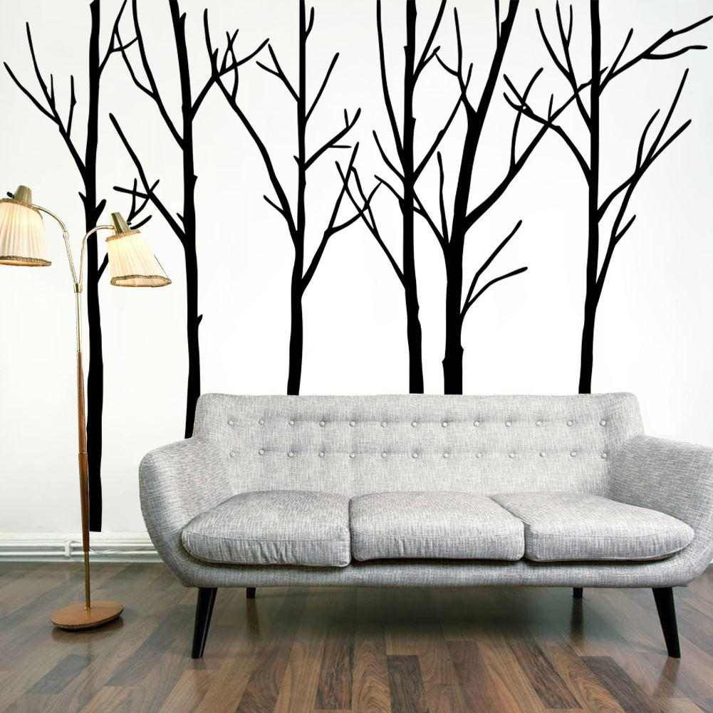 Chic wall stickers for living room see larger image zkmrhtq
